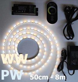 Striscia LED temperatura di colore regolabile Set completo