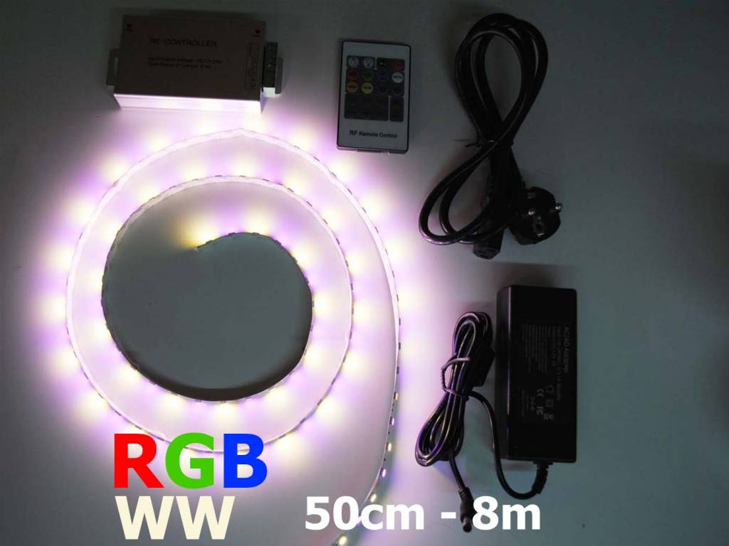 RGB-WW 60 LED/m LED Strip Set