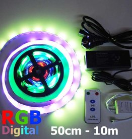 Digitale LED Strip 30 LED/m set