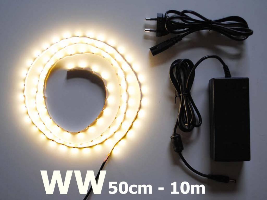 Blanco cálido 60 LED / m completa