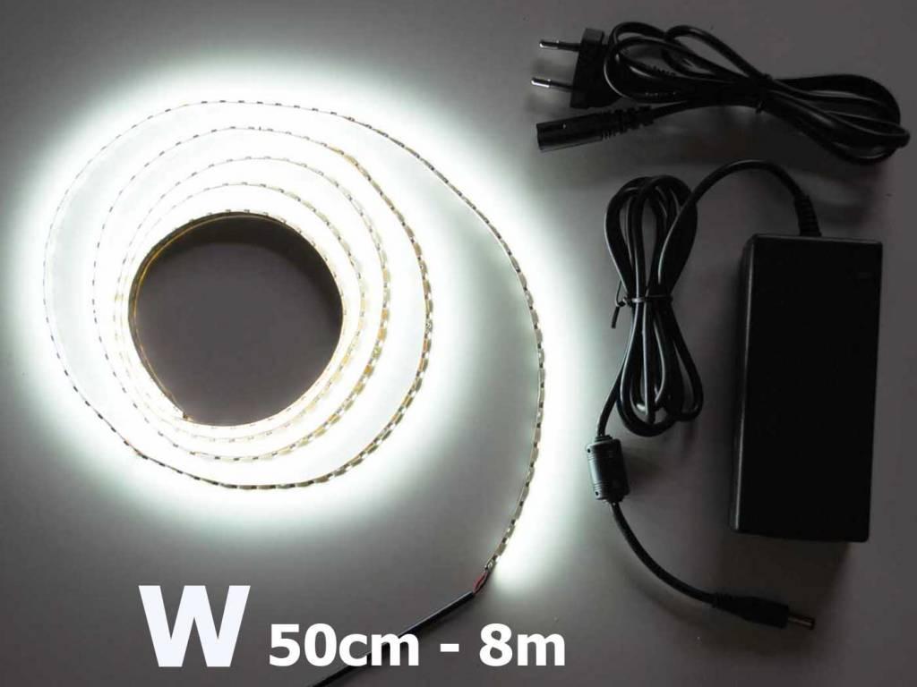 Bande LED Blanc 120 LED / m Kit