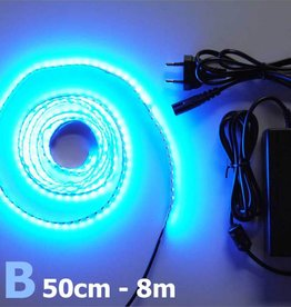 Bande LED Bleu 120 LED / m Kit