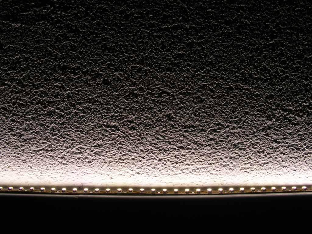 Tira LED Flexible - 350 LED/m Blanco cálido - por 50cm