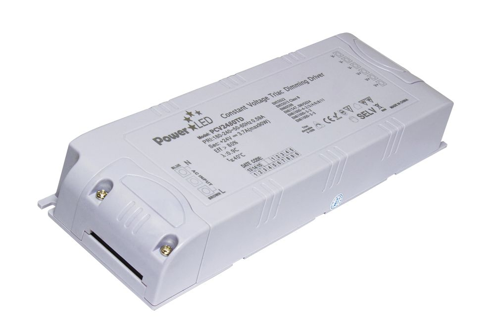 Transformateur dimmable Triac 60W 24V