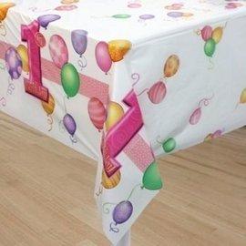 Tafelkleed Pink Balloons