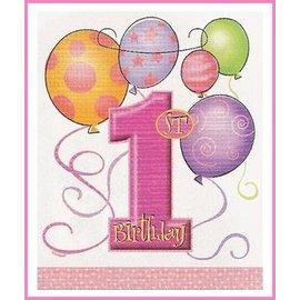 Feestzakjes Pink Balloons