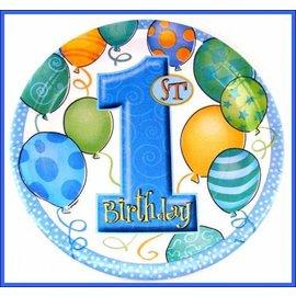 Borden Blue Balloons (8st)