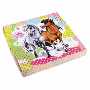 Servetten Paarden (20st)