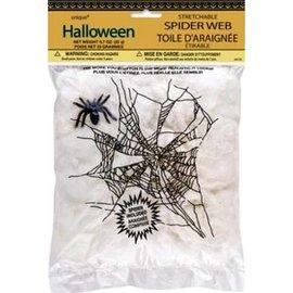 Spinnenweb met 3 spinnen