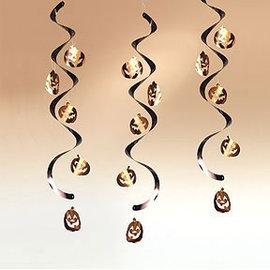 Pompoen Swirls (Halloween) (5st)