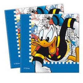 Servetten Donald Duck (20st) OP=OP