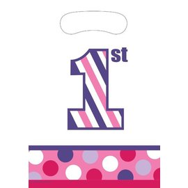 Feestzakjes Sweet Stripes Girl (8st)
