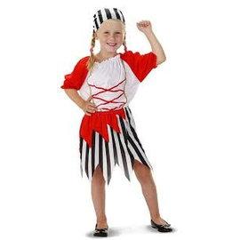 Piratenpakje meisje (3-4 jaar)