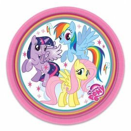 Gebakbordjes My Little Pony (8st)