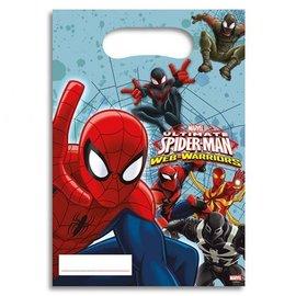 Feestzakjes Spiderman 6st