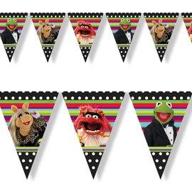 Vlaggenlijn Muppets (3 mtr)