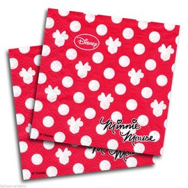 Servetten Minnie Mouse 20st
