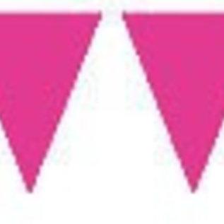 Vlaggenlijn roze XL