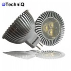 TechniQ Ledspot MR16 3 watt, warm wit