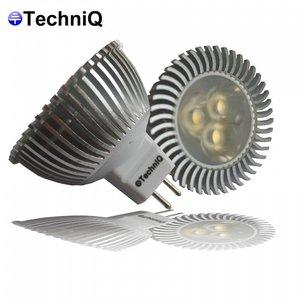TechniQ Ledspot MR16 3 watt, warm wit