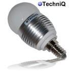 TechniQ Ledlamp G45 E14 3W (> 25 W)