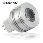 TechniQ Ledlamp SP1W MR11 spot 1W (> 7,5W) warm wit, MR11 fitting