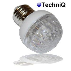 TechniQ TechniQ E27 Gele Beehive ledlamp 1W grote fitting 21 leds
