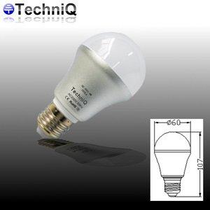 TechniQ Ledlamp E27 6 Watt warm wit (>50W)