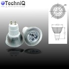 TechniQ Ledspot GU10 3 Watt warm wit (>25W)
