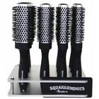 Denman Squargonomics Silver, doorsnee 43 mm