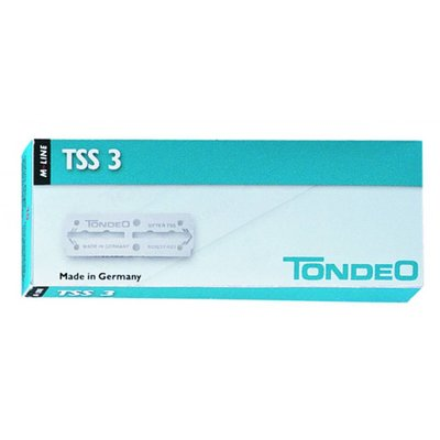Tondeo TSS 3 lame 10 pack