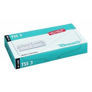 Tondeo TSS 3 hojas de 10 x 10 unidades