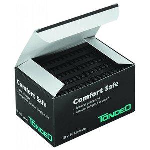 Tondeo Confortar Blades seguros 10 x 10 Pack