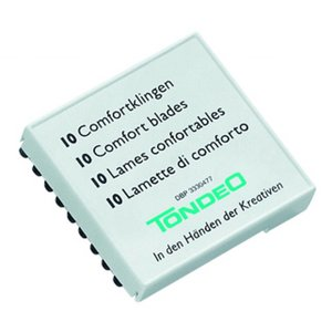 Tondeo Comfort Blades Corte 10 peças
