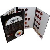 KIS KAPPERS KeraCream Color CARD CHART
