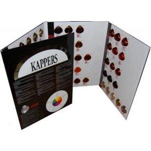 KIS KAPPERS KeraCream CHART carte de couleur