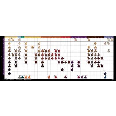 Kadus Kadus Haarfarbe Colour Chart