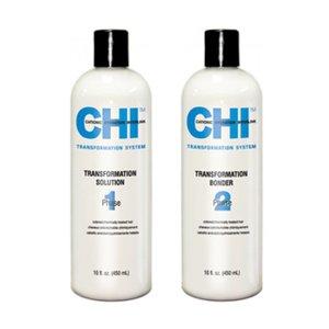 CHI Transf. Solução + Bonder Fase 1 Formula B Cor do cabelo quimicamente