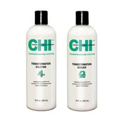 CHI Trasf. Soluzione + Bonder Fase 1 formula C capelli fini poroso