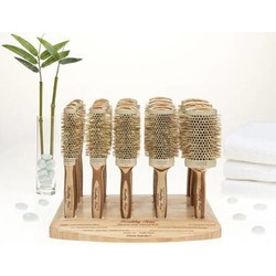 Olivia Garden Eco friendly Bamboo Ionic Brush térmica
