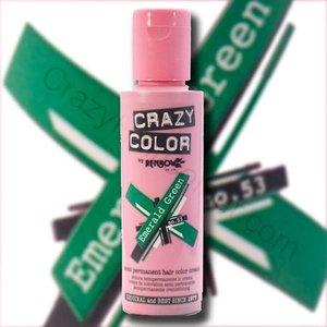 Crazy Color 100ml Emerald Green