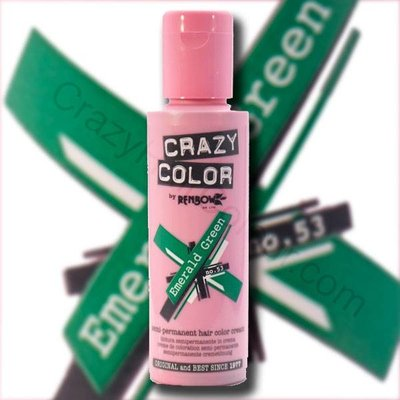 Crazy Color Verde Esmeralda 100ml