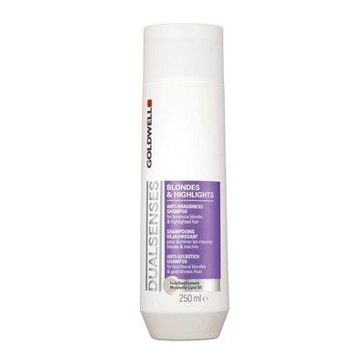 Goldwell Doppio Senses Bionde e luce Anti-brassiness Shampoo
