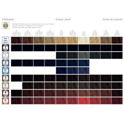 Zotos hair color chart
