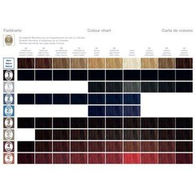 RefectoCil Kleurkaart