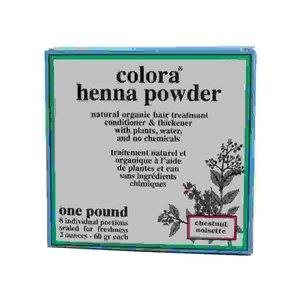 Colora Henna Color del pelo 8 x 60 ml