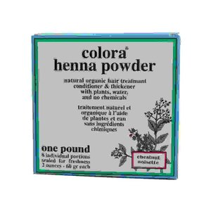 Colora Henna Haarfarbe 8 x 60ml