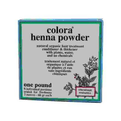 Colora Henna Haarkleur 8 x 60ml
