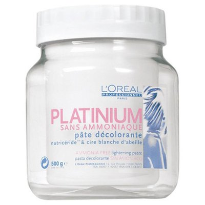 L'Oreal Pasta Platinium without Ammonia, 500 ml