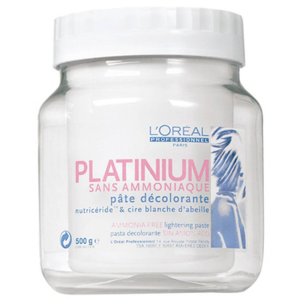L Oreal Pasta Platinium Without Ammonia 500 Ml Hair And